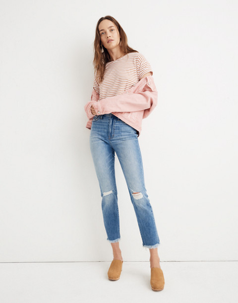The Perfect Vintage Jean in Parnell Wash: Comfort Stretch Edition in parnell wash image 2
