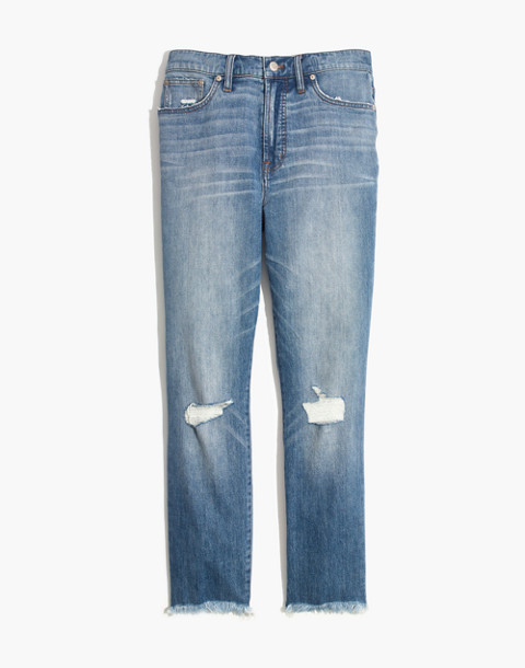 The Perfect Vintage Jean in Parnell Wash: Comfort Stretch Edition in parnell wash image 4