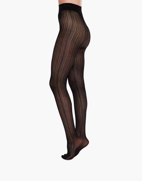 Swedish Stockings™ Astrid Premium Tights in black image 2
