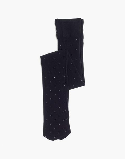 Swedish Stockings™ Filippa Dots Tights in black image 1