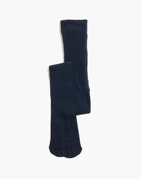 Swedish Stockings™ Alma Rib Tights in blue image 1