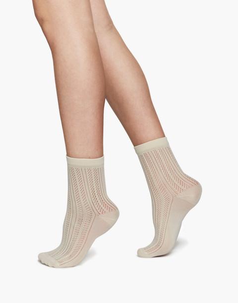 Swedish Stockings™ Klara Knit Socks in white image 2