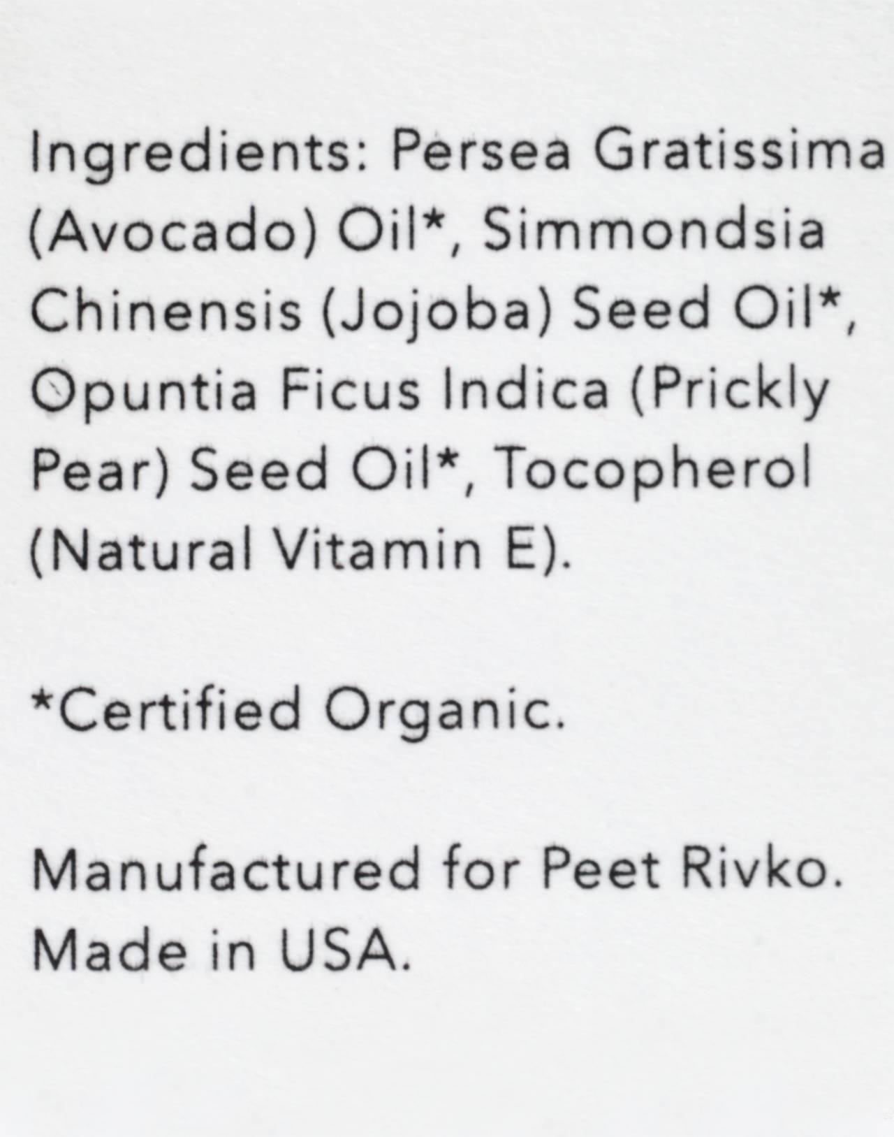 Peet Rivko® Balancing Face Oil in oil image 2