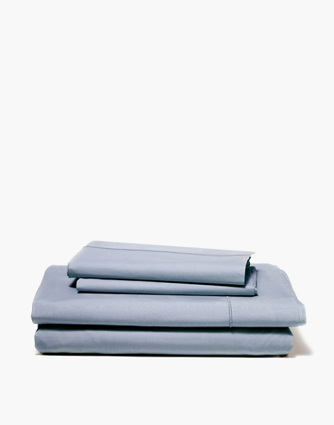 SNOWE™ Sateen Sheet Set in blue image 1