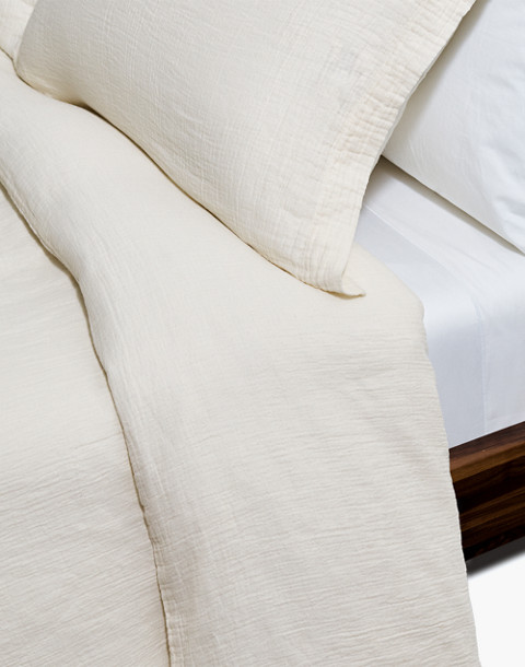 SNOWE™ Softexture Duvet Cover in natural image 1