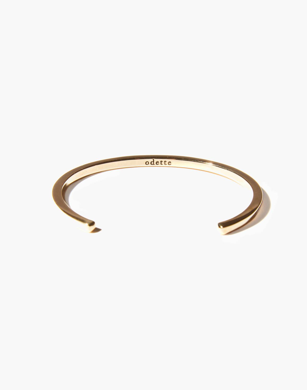 Odette New York® Square Cuff Bracelet in gold image 2