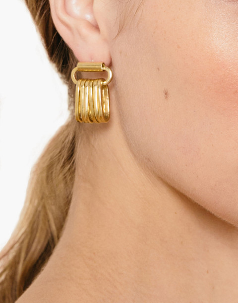 Odette New York® Liberte Single Earring in gold image 2