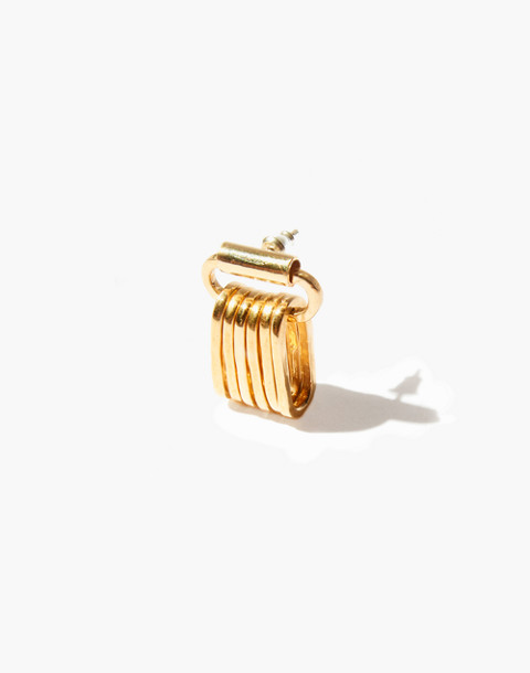 Odette New York® Liberte Single Earring in gold image 1