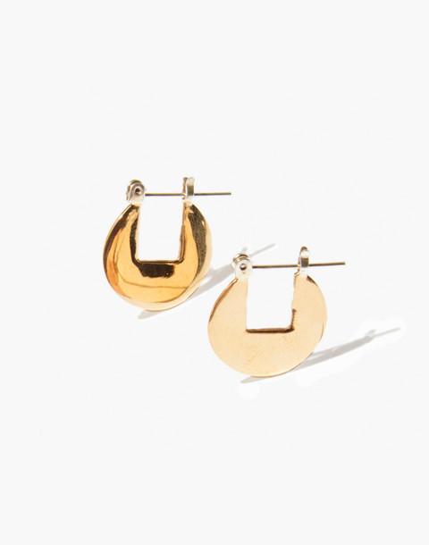Odette New York® Circular Hoop Earrings in gold image 1