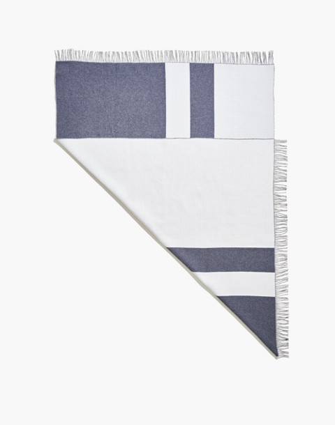 SNOWE™ Striped Throw Blanket in gray image 1