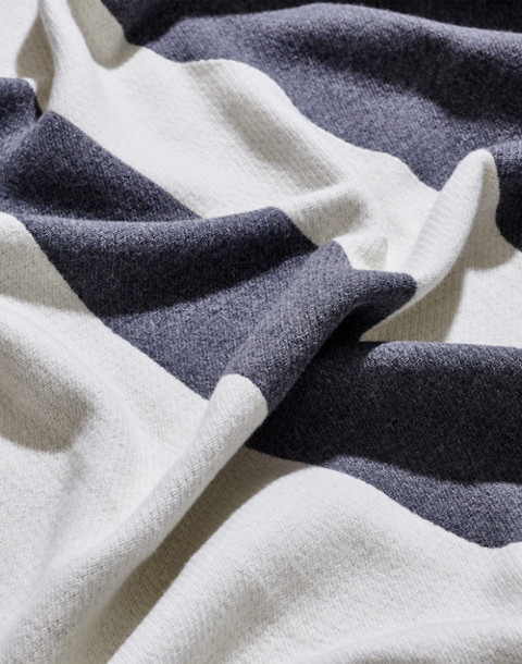 SNOWE™ Striped Throw Blanket in gray image 2