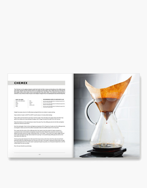 W&P™ Brew Coffee Book in white image 2