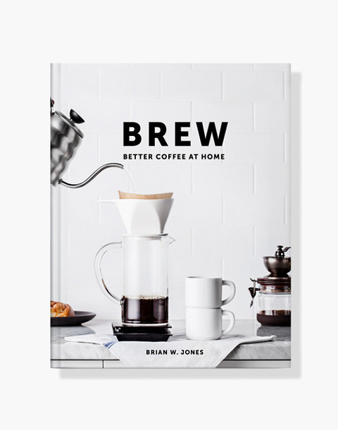 W&P™ Brew Coffee Book in white image 1