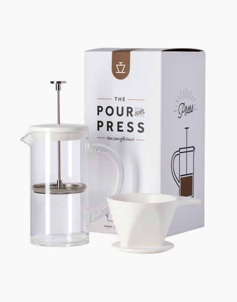 W&P™ Pour Over Press in white image 1