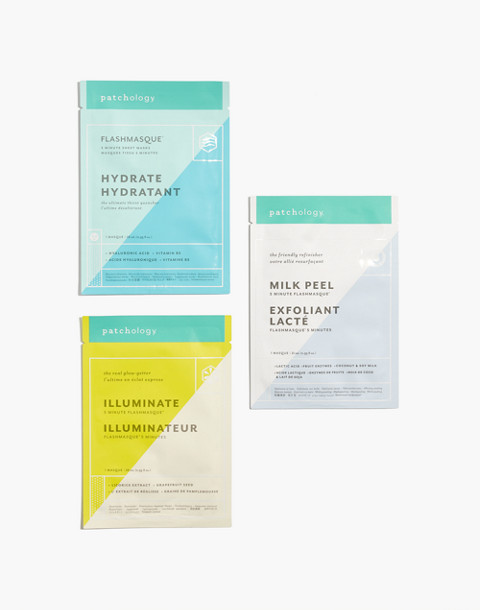 Patchology® Flashmasque® 5 Minute Sheet Masks: Perfect Weekend Trio in trio image 2