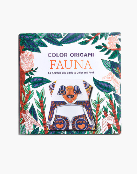 Color Origami Fauna Coloring Book in fauna image 1