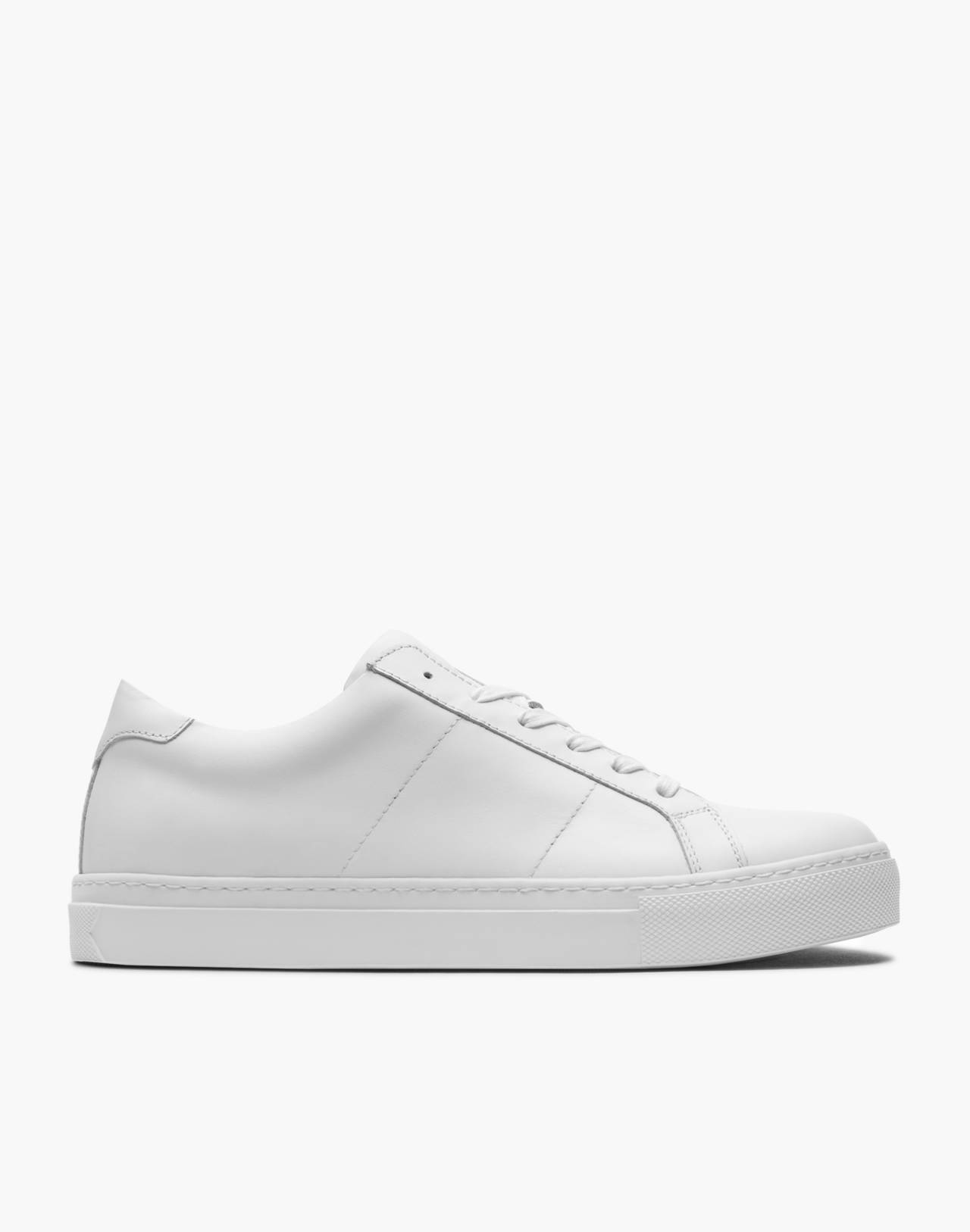 GREATS® Royale Leather Low-Top Sneakers in white image 2