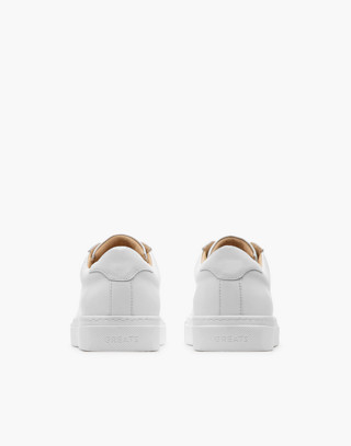 GREATS® Royale Leather Low-Top Sneakers in white image 3
