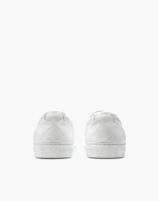 GREATS® Wooster Quilted Slip-On Sneakers in white image 3