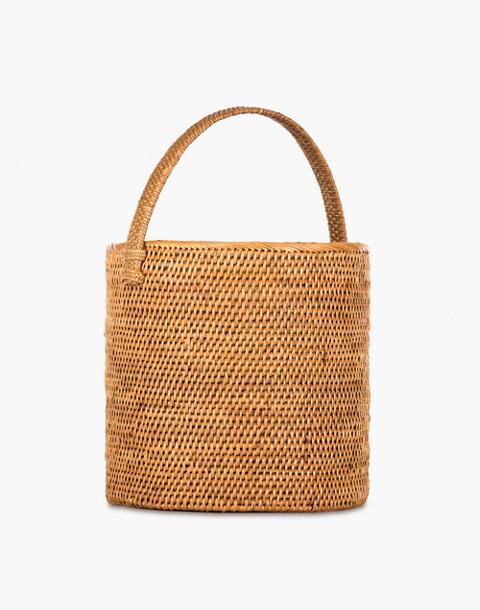 Bembien® Giorgia Rattan Bucket Bag in natural image 2