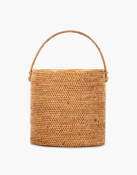 Bembien® Giorgia Rattan Bucket Bag in natural image 1