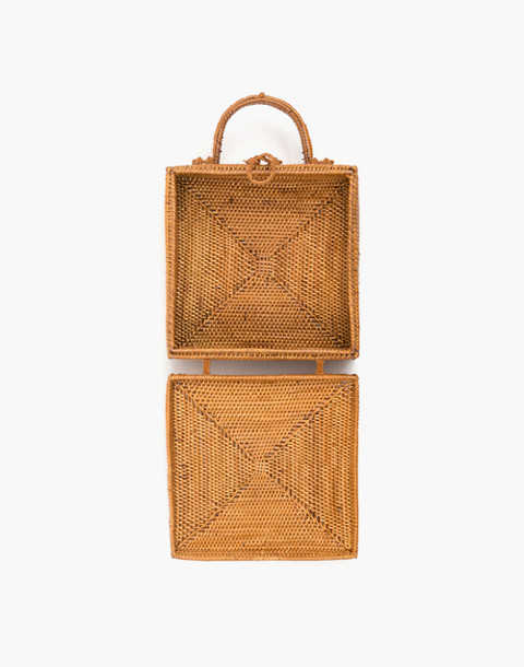 Bembien® Stella Rattan Box Bag in natural image 2