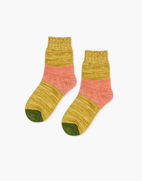 Hansel from Basel™ Two-Pack Tonal Dapple Crew Socks in patterned quilt image 2