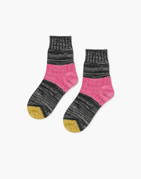 Hansel from Basel™ Two-Pack Tonal Dapple Crew Socks in patterned quilt image 3