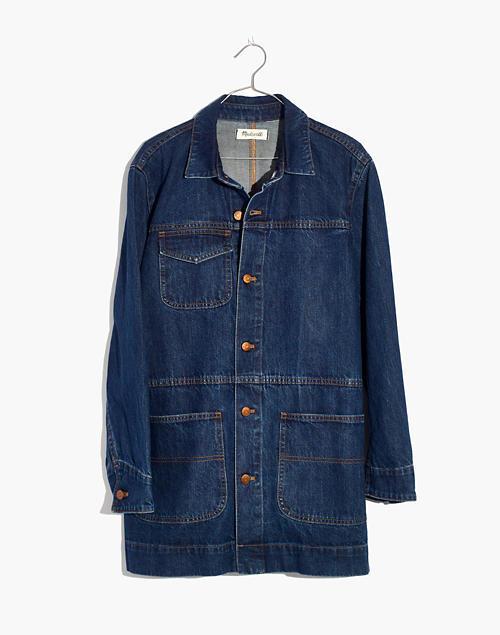 4fb6a16ad Oversized Denim Chore Jacket
