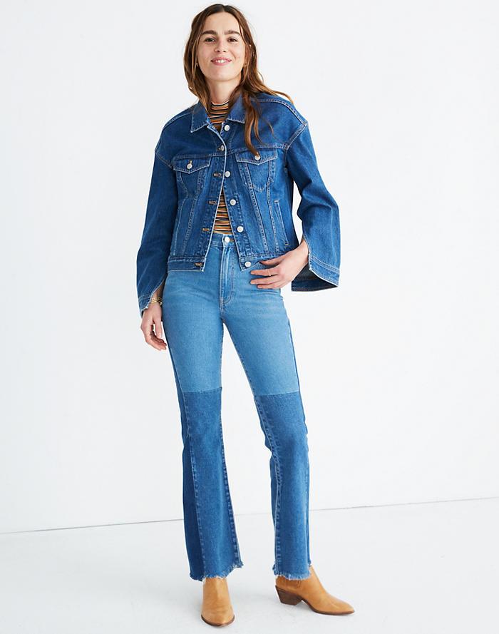 09859591de51e6 Madewell x ISKO™ Reconstructed Jean Jacket