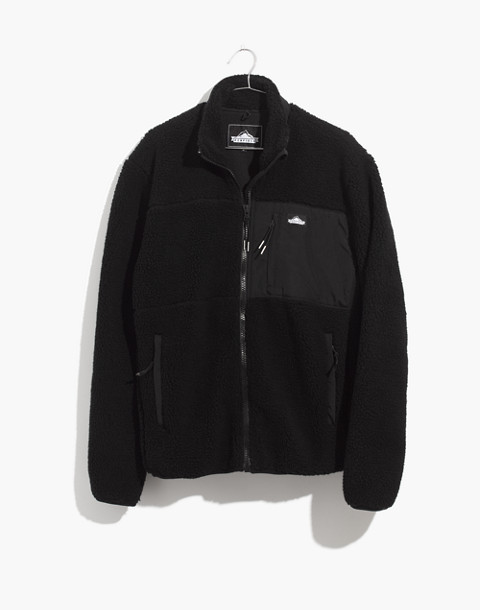 Penfield® Mattawa Sherpa Fleece Jacket in black image 4