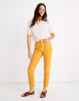 The Momjean: Garment Dyed Edition by Madewell