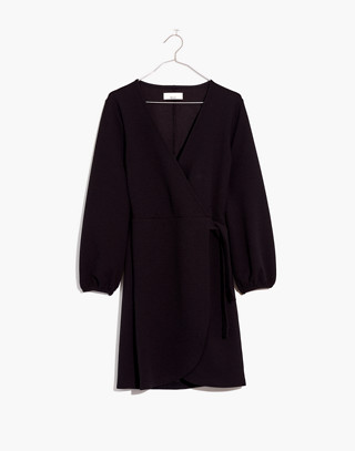Texture & Thread Long Sleeve Side Tie Dress by Madewell