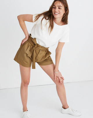 Paperbag Shorts by Madewell
