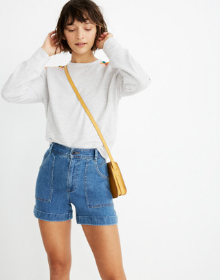Denim Chase Shorts by Madewell