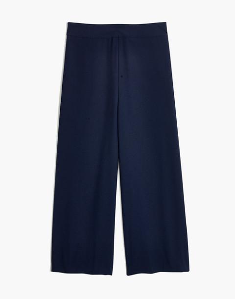 Huston Pull-On Crop Pants in deep navy image 4