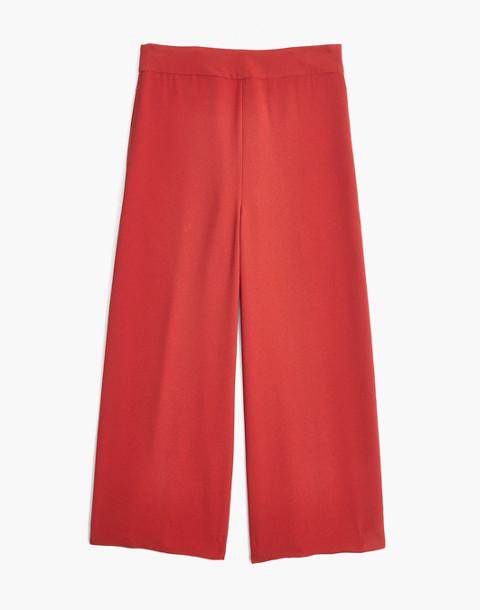 Tall Huston Pull-On Crop Pants in dark cinnabar image 4