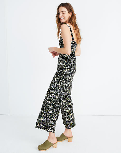 335ea9604c Button-Front Wide-Leg Jumpsuit in Playground Posies