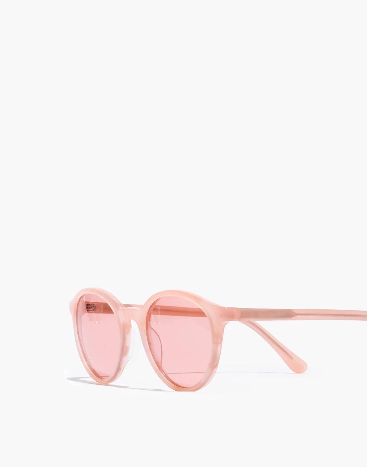 Layton Sunglasses in sweetheart blush image 2