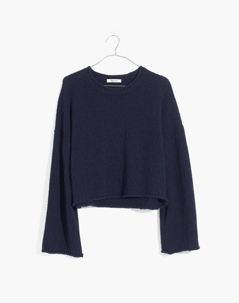 Brownstone Pullover Sweater in deep navy image 1