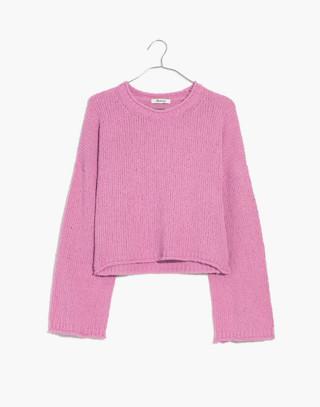 Brownstone Pullover Sweater in light petunia image 4