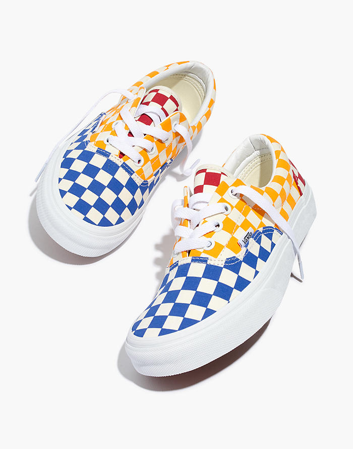 378411f593 Vans® Unisex Era Lace-Up Sneakers in Multi Checkerboard