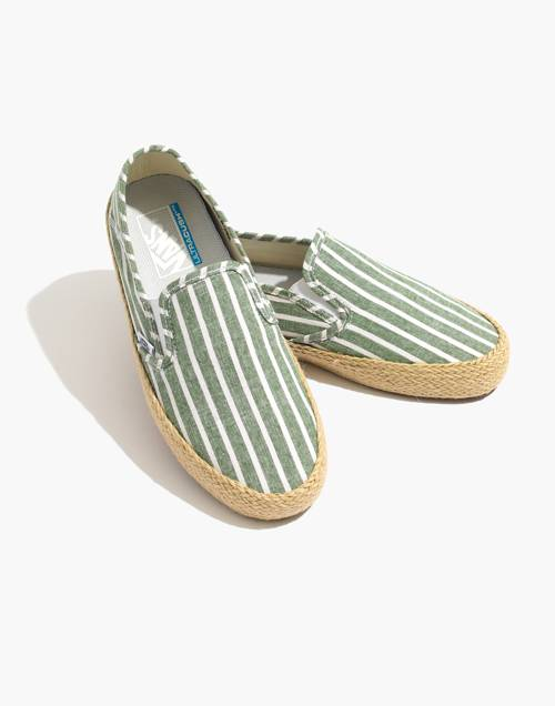 Vans® Unisex Slip On Espadrille Sneakers by Madewell