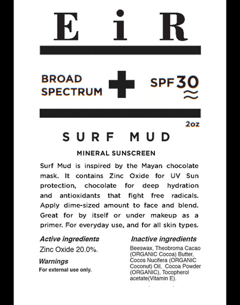 Eir NYC® Surf Mud SPF 30 Sunscreen in one color image 4