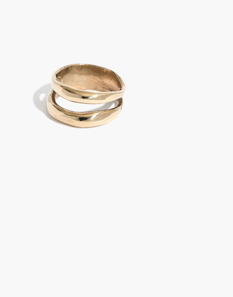 Slantt® Frida Double Ring by Madewell