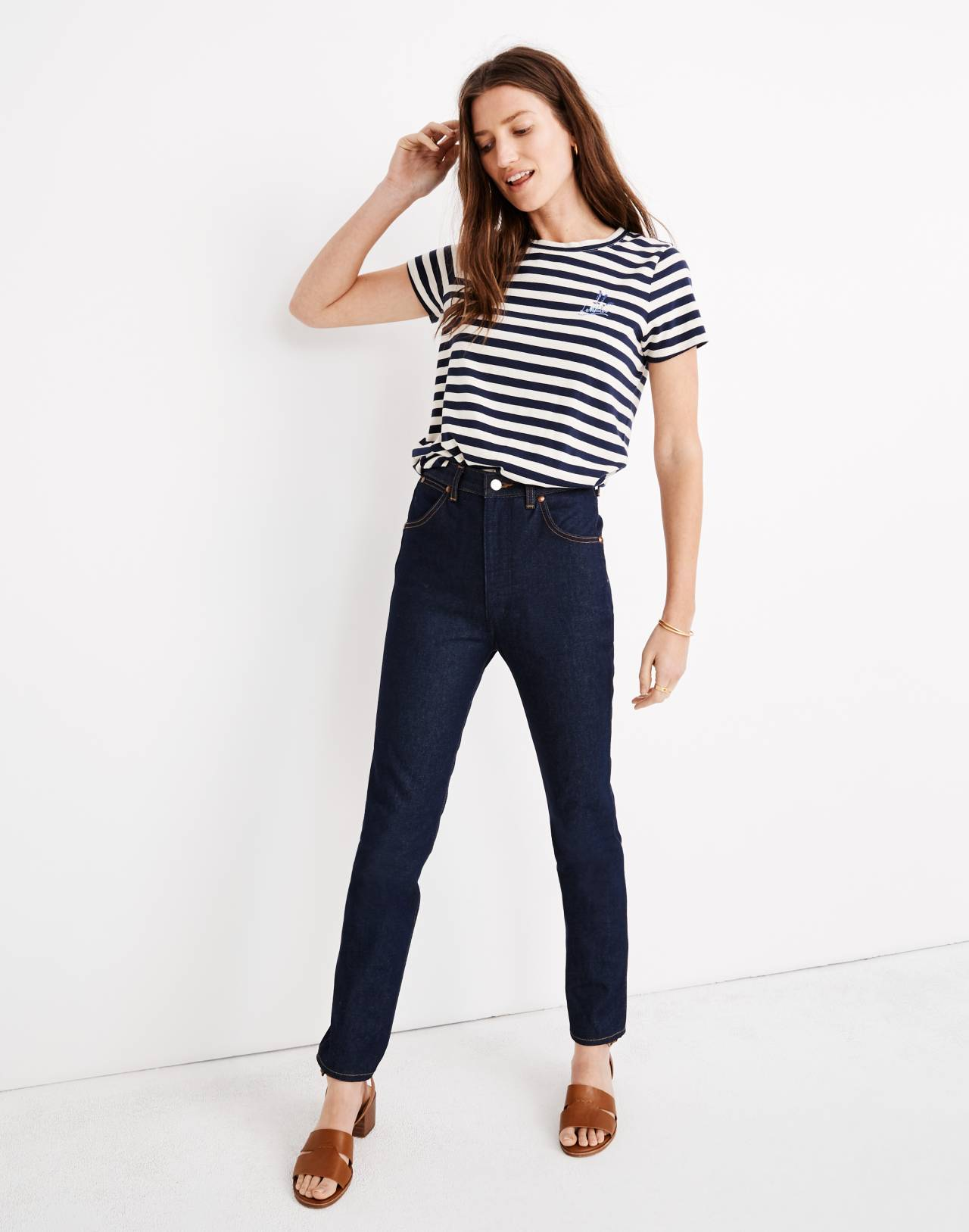 Wrangler® Icons Jeans in new wash image 1
