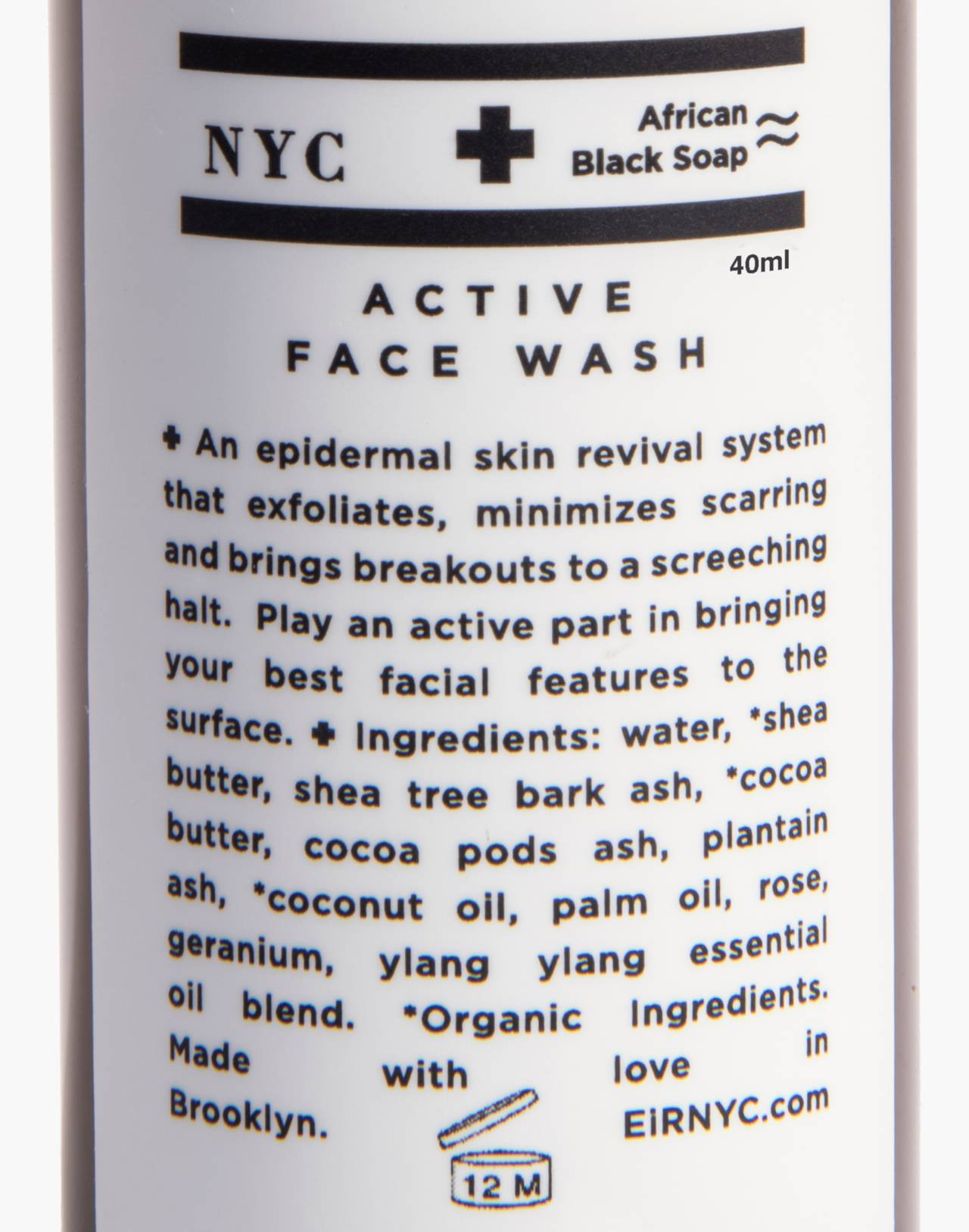 Eir NYC® Active Face Wash in one color image 2