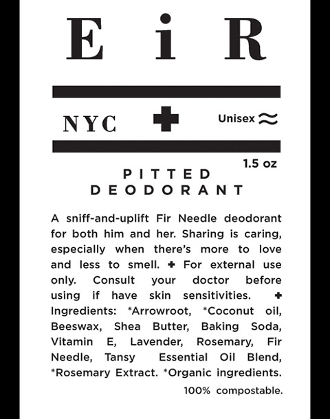 Eir NYC® Pitted Deodorant in one color image 3