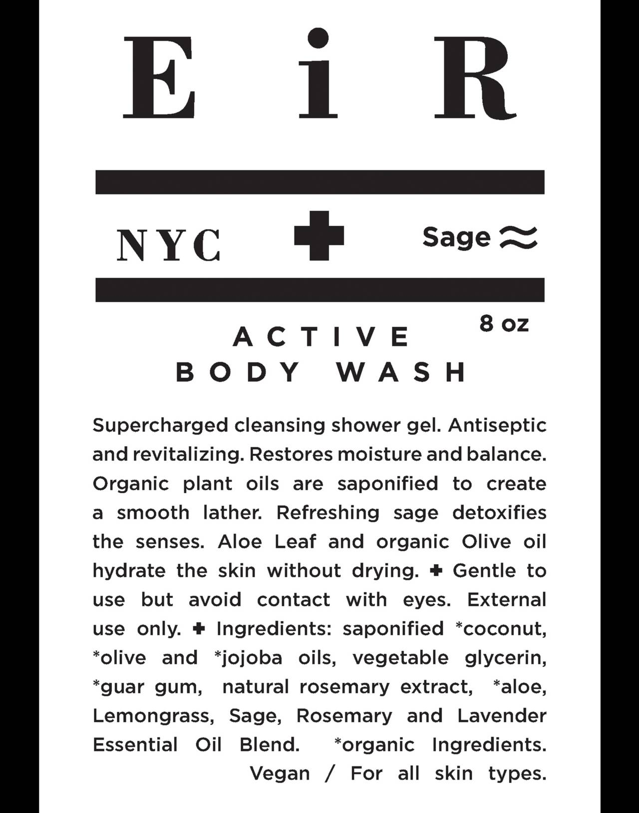 Eir NYC® Active Body Wash in one color image 3