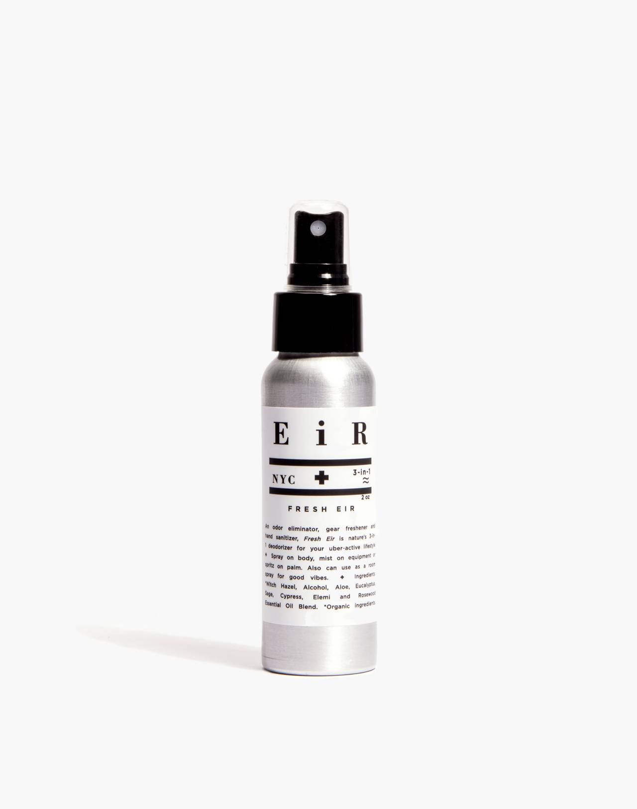 Eir NYC® Fresh Eir Hand Sanitizer and Deodorizing Spray in one color image 1